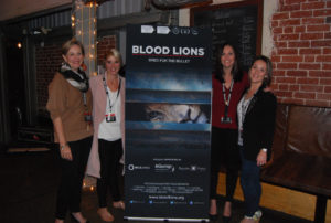 The Love Africa and Blood Lions team at the Bellevue Cafe Coffee for Conservation campaign in Kloof, Durban.